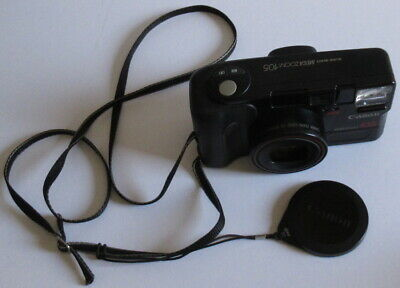 2019 Mode Canon Mega Zoom 105 35mm Fim Camera - For Parts / Not Working - Please Read.