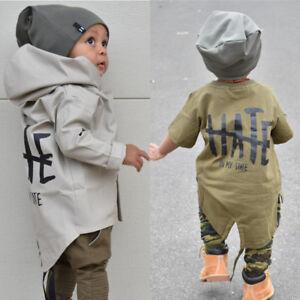 f24c9cae66f5d Image is loading Newborn-Baby-Boys-Kids-Windbreaker-Outwear-Coat-Winter-