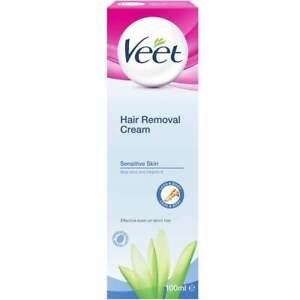 Veet Hair Removal Silk Fresh Cream For Sensitive Skin 100 Ml Ebay