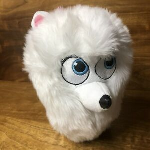 The Secret Life of Pets Gidget Pets Plush Stuffed Toy White Girl Dog Pomeranian