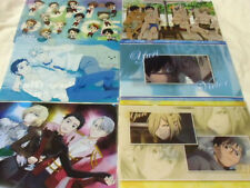 Anime YURI on ICE lot of 6 clear file folder Victor Plisetsky Mint official