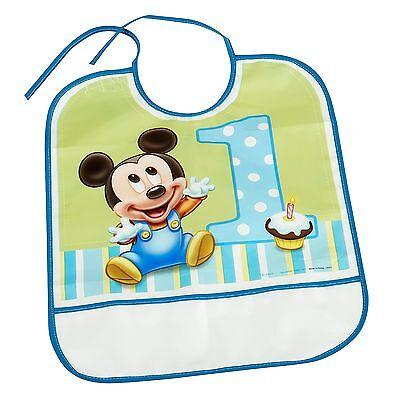 Disney Mickey's 1st Birthday Bib / 1 pc / Disney (A439577)