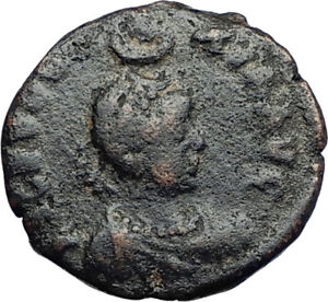 EUDOXIA-Arcadius-Wife-401AD-Authentic-Ancient-Roman-Coin-VICTORY-CHI-RHO-i69939