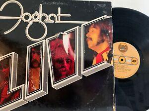 Foghat-Live-LP-1977-Bearsville-BRK-6971-Classic-Rock-VG-EX