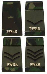 NEW-BRITISH-ARMY-SURPLUS-DPM-RANK-SLIDE-PRINCESS-OF-WALES-ROYAL-REG-PWRR-UK
