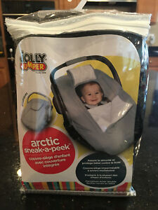 Tremendous Details About Jolly Jumper Deluxe Sneak A Peek Arctic Baby Car Seat Cover Unisex Black Uwap Interior Chair Design Uwaporg