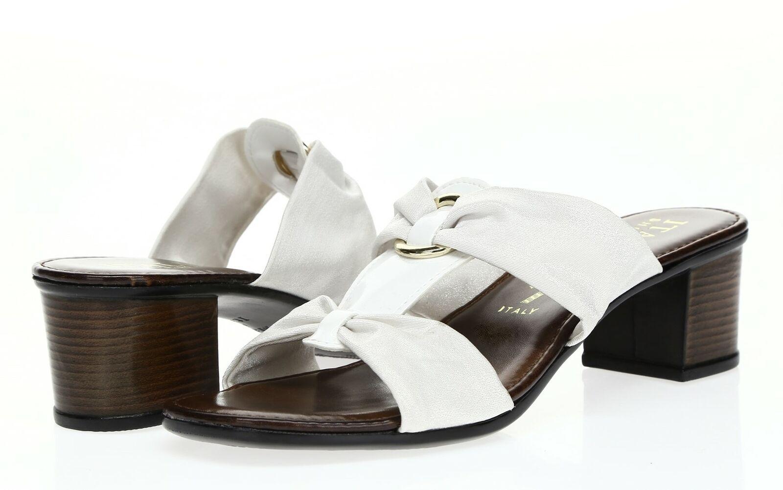 Italian Shoemakers Womens White Block