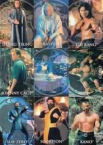 Mortal Kombat Movie 1995 Skybox Complete Base Card Set Of 90 Ebay