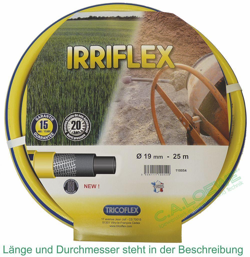 TUBO per acqua irriflex giallo, 3 4  = 19mm ruolo à 50 M Tricoflex tubo da giardino