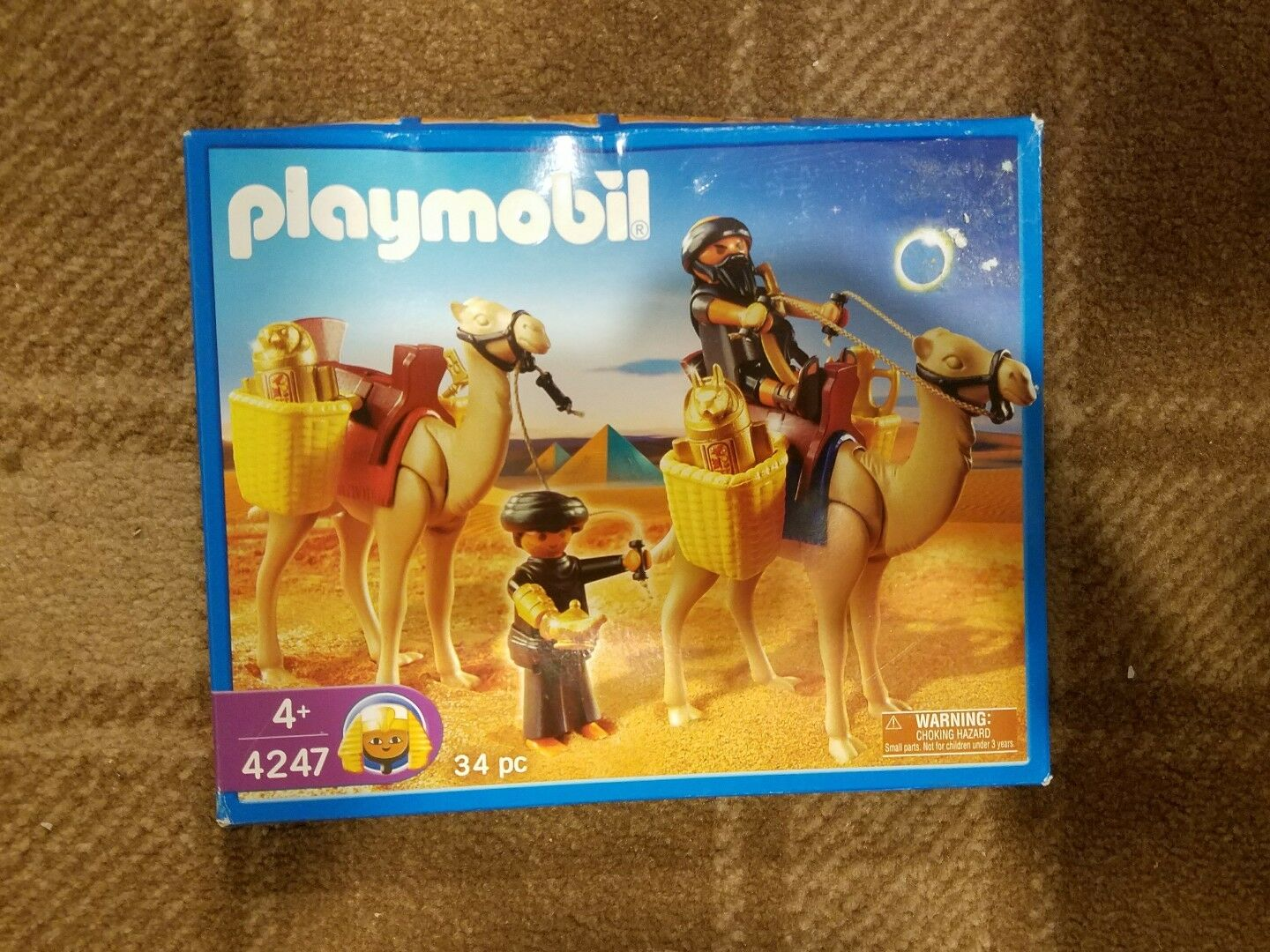 Playmobil Tomb Raiders with Camels