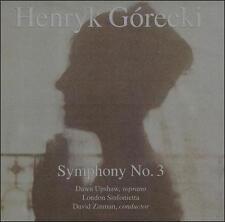 "Henryk Gorecki: Symphony 3 ""Sorrowful Songs""; 1992 CD, Minimal, Dawn Upshaw, Non"