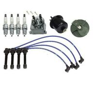 Cap Rotor Ngk Wire Spark Plugs Fuel Filter Kit Honda Civic Cx Dx Lx 1.6l on sale