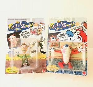 Nickelodeon The Ren & Stimpy Show Armée Bump Figures A-riffiques 1993