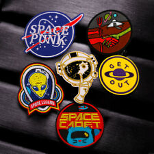 """Dead Space Planet Cracker 3.5/"""" Logo Sew Ironed On Embroidery Applique Patch"""