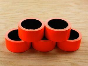"5 2"" Orange Colored Duct Tape Colors Waterproof UV Tear Resistant 15 yd 45' Roll"