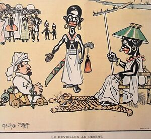 African-Tribes-Cannibal-Stereotype-Cartoon-orig-1901-French-Humor-Magazine