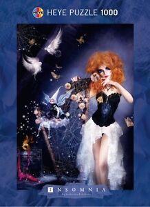 KATARINA SOKOLOVA - INSOMNIA : SPIDERWEB - Heye Puzzle 29313 - 1000 Pcs.