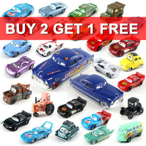 Disney Pixar Lot Choose Loose Toy Model Cars McQueen 1:55 Diecast Lot All Mattel