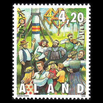 "Europa Briefmarken "" Festivals & National Celebrations Sc 144 Aland 1998"