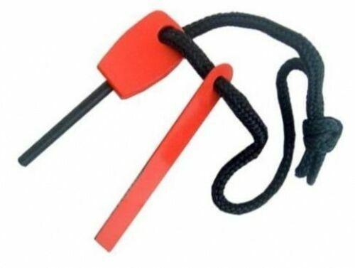 Steel Camping Outdoor Survival FLM Magnesium Flint Fire Lighter Striker Starter