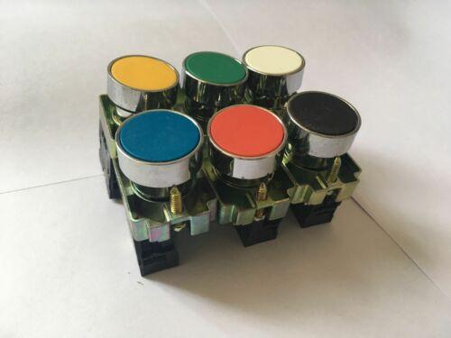 N//O BA42 N//C 22mm Momentary Push Button Switch XB2-BA11 BA21 BA31  BA51 BA61