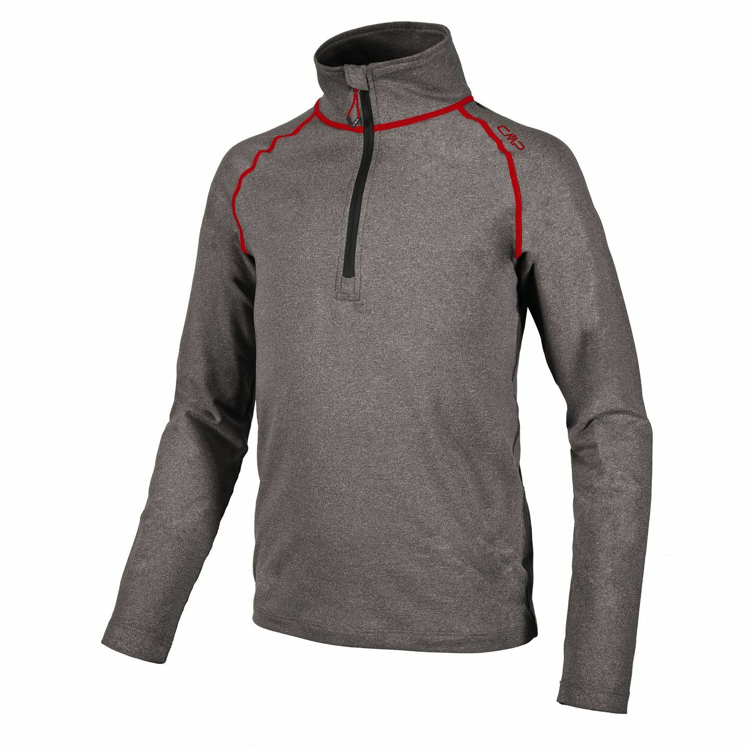 CMP Sweatshirt Function  Top Grey Collar Stretch Softech Half-Zip  we take customers as our god