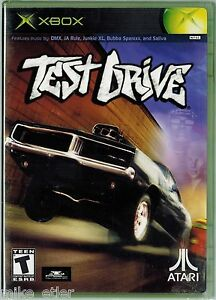 Test-Drive-Xbox-2002-Factory-Sealed-Black-Label-Release