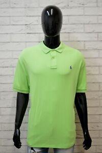 Polo-Maglia-Uomo-RALPH-LAUREN-Taglia-Forte-Manica-Corta-Shirt-Big-Size-Cotone