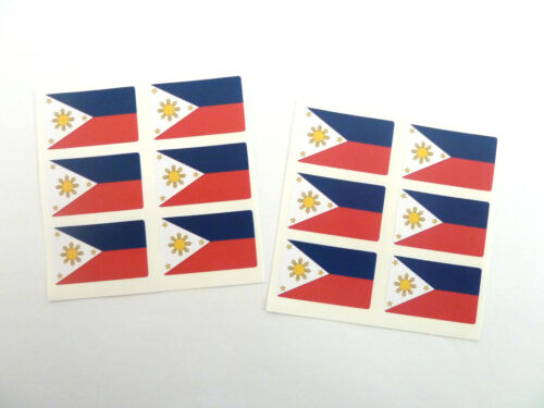 FR213 Mini Sticker Pack Self-Adhesive Philippines Flag Labels
