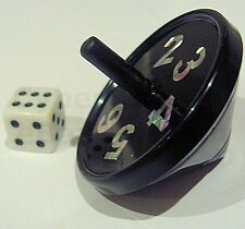 LOADED SPINNING TOP CAN MATCH NUMBER ON A DICE OR ANY U CHOOSE MAGIC TRICK CHEAT