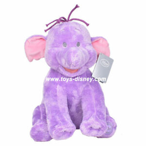 NWT-Disney-Authentic-Heffalump-Lumpy-Plush-Toy-Winnie-the-Pooh-Elephant-Stuffed