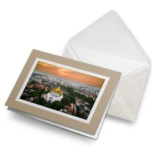 Greetings-Card-Biege-Sunset-Wat-Saket-Bangkok-Thailand-Travel-24276