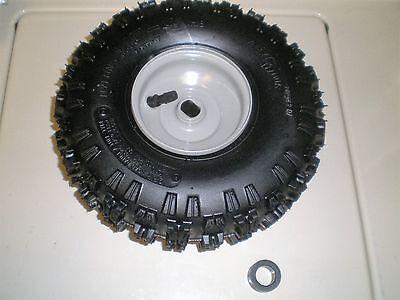 "2 stage snowblower tire and wheel 934-04282B 4"" grey steel rim mini 2 stage"