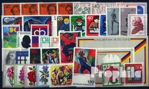 BRD-postfrisch-1974-kompletter-Jahrgang-in-sauberer-Erhaltung