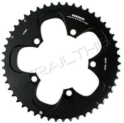 Use with 34T SRAM Red//Force 50T 110mm Black Chainring