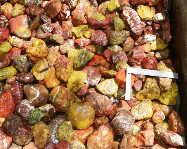 20+ LBS Lot Rough Colorful Fancy Jasper From CA, NV, OR, AZ Cabbing Lapidary