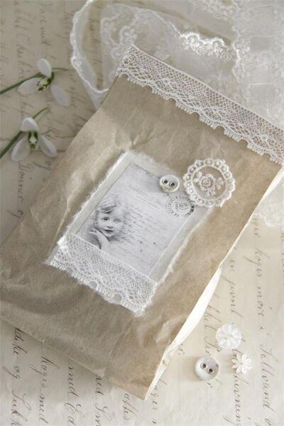 Jeanne d 'arc Living *Lavendelseife, handgefertigt mit Spitze & nostalgischen Kn
