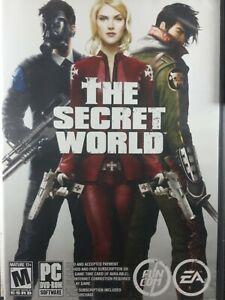 The Secret World (PC, 2012)..DVD-ROM Very Good Complete 2 Discs