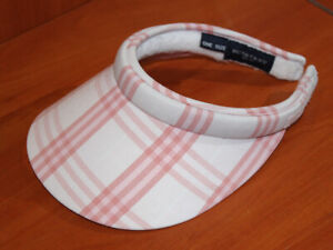1a45c9b6d43 Image is loading Authentic-BURBERRY-Golf-Check-Ladies-Sun-Visor-Cap-