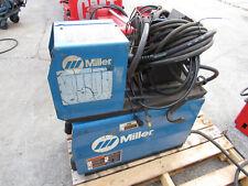 Miller Invision 456p Welder With S 64m Wire Feeder Bernard Lead Good Working