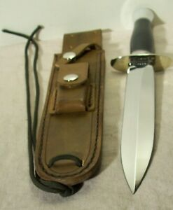 2000's~VOORHIS~LARGE FIGHTER DAGGER~MINT~HIGH END FIGHTING KNIFE w/ORIG. SHEATH~