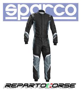 TUTA-KART-SPARCO-X-LIGHT-KS-7-NERO-GRIGIO-CIK-FIA-N2013-1-002336
