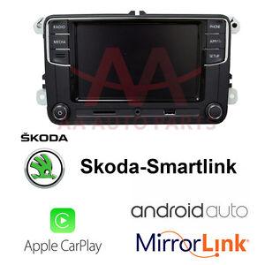 Details about Skoda Carplay Android Auto Smart Bluetooth Radio for Yeti  Octavia Superb Fabia