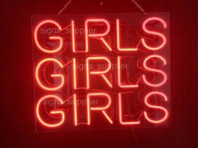 "New Pow Neon Sign Acrylic Gift Light Lamp Bar Wall 14/""x10/"""