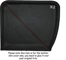 Rojo Stitch 2x T Bar Techo Sombrillas Skin Tapa se ajusta Toyota Mr2 Mk1 84-90