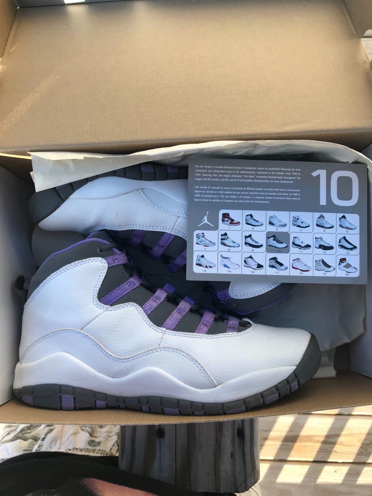 2018 Violet Jordan 10 Violet 2018 tamaño 6 baratos zapatos de mujer zapatos de mujer 006665