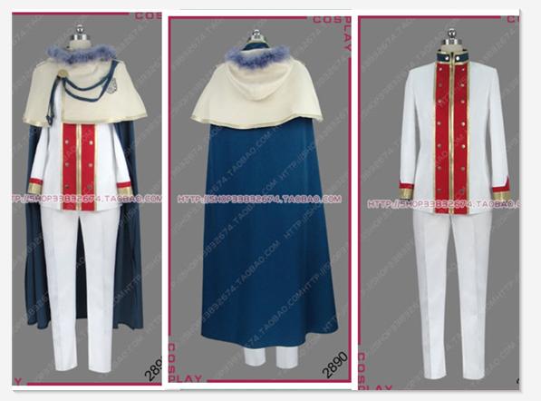 Anime Black Clover Yuno Men Women Cosplay Costume Customized Uniform Full Set