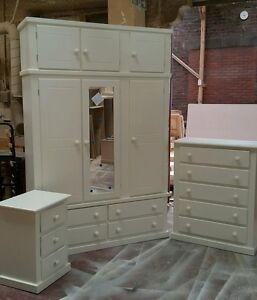 Stupendous Details About Handmade Ivory Aylesbury Bedroom Furniture Set Assembled Not Flat Pack Download Free Architecture Designs Rallybritishbridgeorg