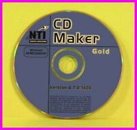 Nti Easy-to-use Cd And Dvd Maker Gold 6.7 98 Me Nt 2000 Xp Burner Wav Editor