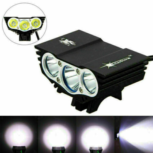Solarstorm 15000LM 3x XM-L T6 LED Bike Bicycle Light Front Headlight Torch Lamp